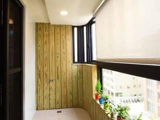 陽台的設計也能與室內一致 根據 奕禾軒 空間規劃 /工程設計 現代風
