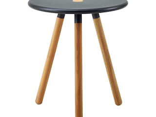 Area Stool/Table IQ Furniture Garden Furniture Wood Black