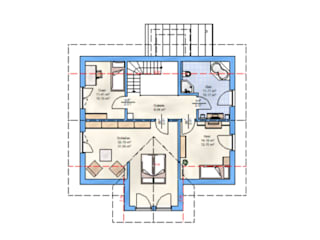 ABZ-HAUS-Beispiel von HAUSBAU Gutachter Hans-Arnold Küfner im Raum Berlin Landhaus