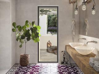 Phòng tắm phong cách hiện đại bởi architetto stefano ghiretti Hiện đại