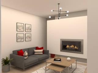 Sala de Estar/Jantar Salas de estar modernas por Filipa Sousa Interior Design Moderno