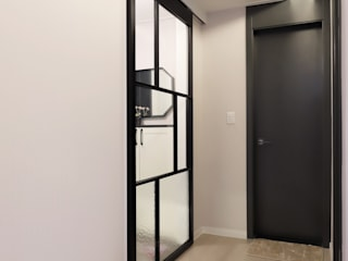 디자인담다 Modern Corridor, Hallway and Staircase