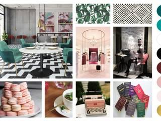 Mood Board: Lojas e espaços comerciais  por Filipa Sousa Interior Design