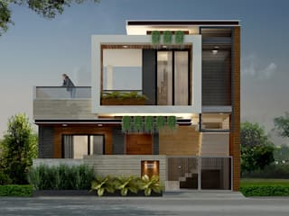 Exterior Design and Facade Ideas Modern houses by homify Modern
