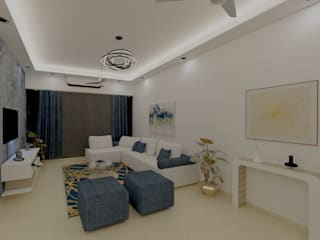 Living room Designs:  Living room by Golden Spiral Productionz (p) ltd