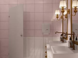 PROJEKT ŁAZENEK: styl , w kategorii Hotele zaprojektowany przez Izabela Jurkiewicz Projektowanie Wnętrz