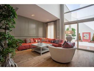 Ruang Keluarga Gaya Mediteran Oleh Idearte Marta Montoya Mediteran