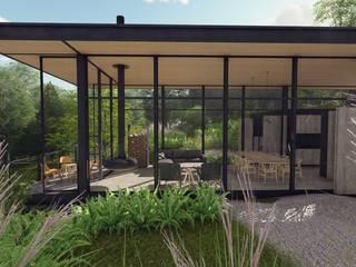 CG HOUSE de C_arquitectos Moderno