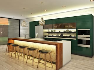 Modern kitchen by Luis Escobar Interiorismo Modern