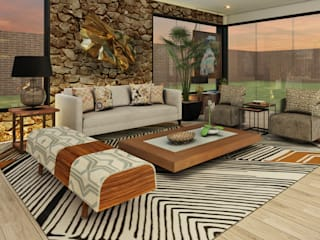 Luis Escobar Interiorismo Modern living room