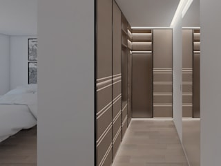 Modern style dressing rooms by DR Arquitectos Modern