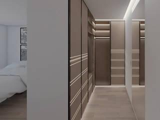 DR Arquitectos Modern dressing room