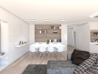 DR Arquitectos Modern living room