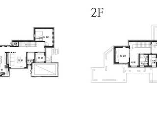 공동마당을 둔 철근콘크리트 주택 (충청남도 보령시): 더존하우징의 현대 ,모던