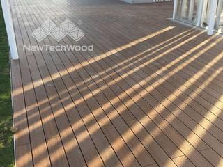 Roof terrace by 新綠境實業有限公司, Scandinavian
