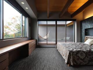 Modern style bedroom by Studio tanpopo-gumi 一級建築士事務所 Modern