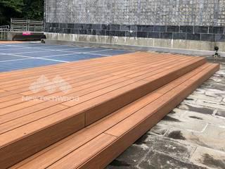 Flat roof by 新綠境實業有限公司, Asian