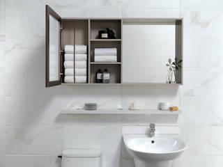 Modern bathroom by inus Modern