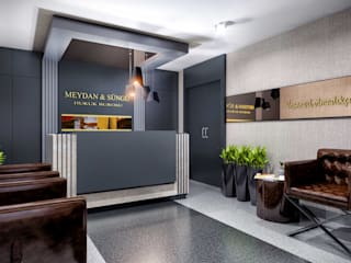 ANTE MİMARLIK Modern offices & stores