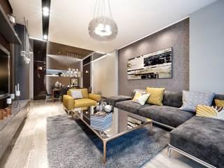 ANTE MİMARLIK Living roomSofas & armchairs