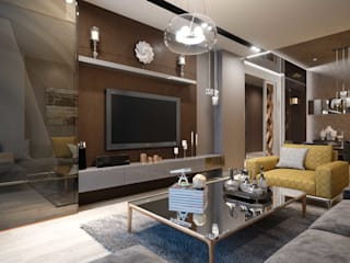 ANTE MİMARLIK SalonesMuebles de televisión y dispositivos electrónicos