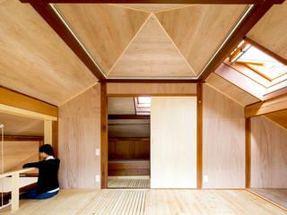 二重縁側の家 北欧デザインの 書斎 の すずき/suzuki architects (一級建築士事務所すずき) 北欧