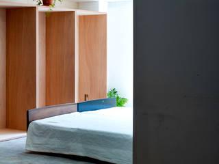 光の箱 北欧スタイルの 寝室 の すずき/suzuki architects (一級建築士事務所すずき) 北欧