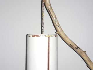 Lámpara de pié :  de estilo  por DecoTienda