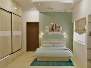 Bedroom Design Ideas Modern style bedroom by Golden Spiral Productionz (p) ltd Modern