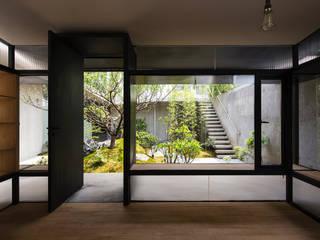 Salones asiáticos de Paul Marie Creation Garden Design & Swimmingpools Asiático