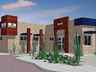Proyecto Arquitectónico, ejecutivo y próximo a ejecutar en Mexicali Casas modernas de Arquitectura, Diseño y Construcción Moderno
