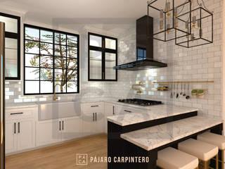 Cocina Clásica Black&White de Pájaro Carpintero