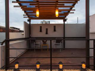 Residencia Polanco: Terrazas de estilo  por MAGIA ARQUITECTONICA