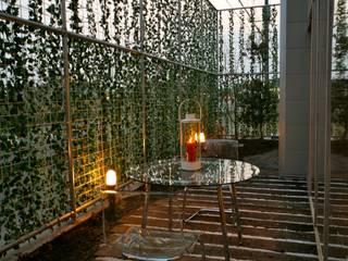 枕木の庭: 株式会社高野設計工房が手掛けた庭です。