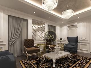 Ruang duduk/ruang santai:  Ruang Keluarga by PT. Leeyaqat Karya Pratama