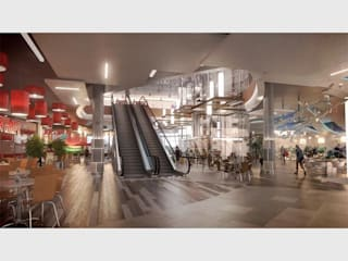 Imported and supplied Springs mall with tiles:  Shopping Centres by Italian Vibes PTY,