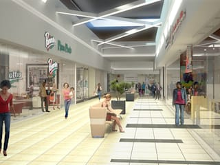 Imported and supplied Thavani mall with tiles:  Shopping Centres by Italian Vibes PTY,