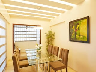 DINING AREA Modern dining room by Suchit Interiors & Associate Modern