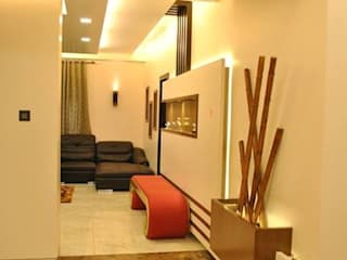 Classy and modern interiors for your home in Gurgaon:   by Azuri