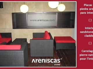 ARENISCAS STONE Bar & Club in stile scandinavo Pietra Marrone