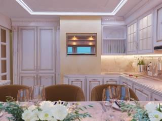Cuisine classique par студия Design3F Classique