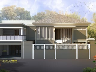 E. Rumah Bp. Agus Salim Oleh Tropical Urban Design Studio