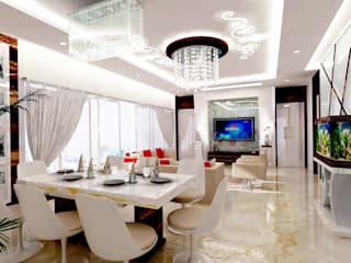 :   by 7 Square Interior Designers