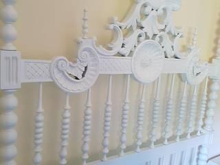 Restauro de cama:   por Francisco Pinto Carpintaria & Mobiliario