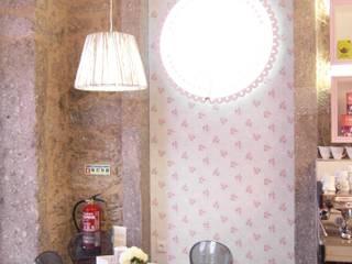 Salão de chá Espaços de restauração eclécticos por AtelierAtelier Eclético