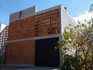 Casas unifamiliares de estilo  por Creer y Crear. Arquitectura/Diseño/Construcción, Rústico