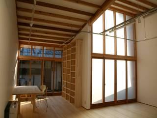 Projekty,  Domowe biuro i gabinet zaprojektowane przez 株式会社高野設計工房