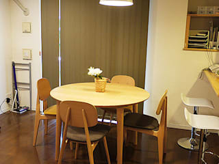 Scandinavian style dining room by 株式会社アートアーク一級建築士事務所 Scandinavian