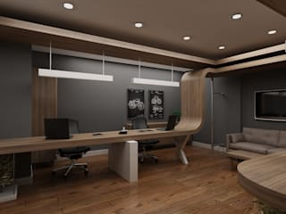 Study/office by Grand Office , Modern