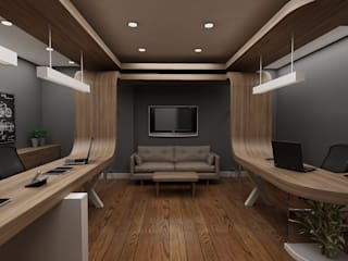 Living room by Grand Office , Modern